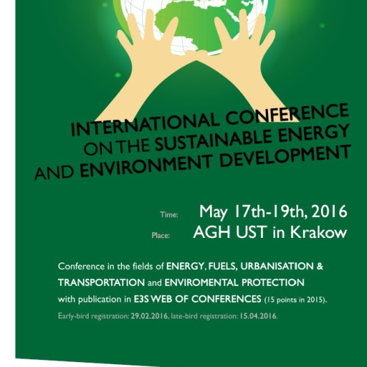 International Scientific Conference on the Sustainable Energy and Environment Developent