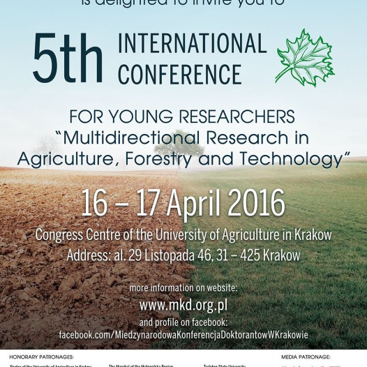 International Conference for Young Researchers!