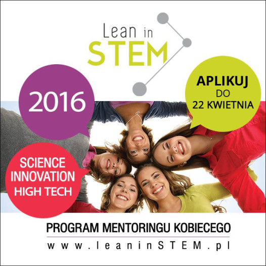 Program Mentoringu Kobiecego Lean in STEM!