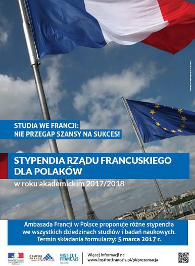 Stypendia Rządu Francuskiego