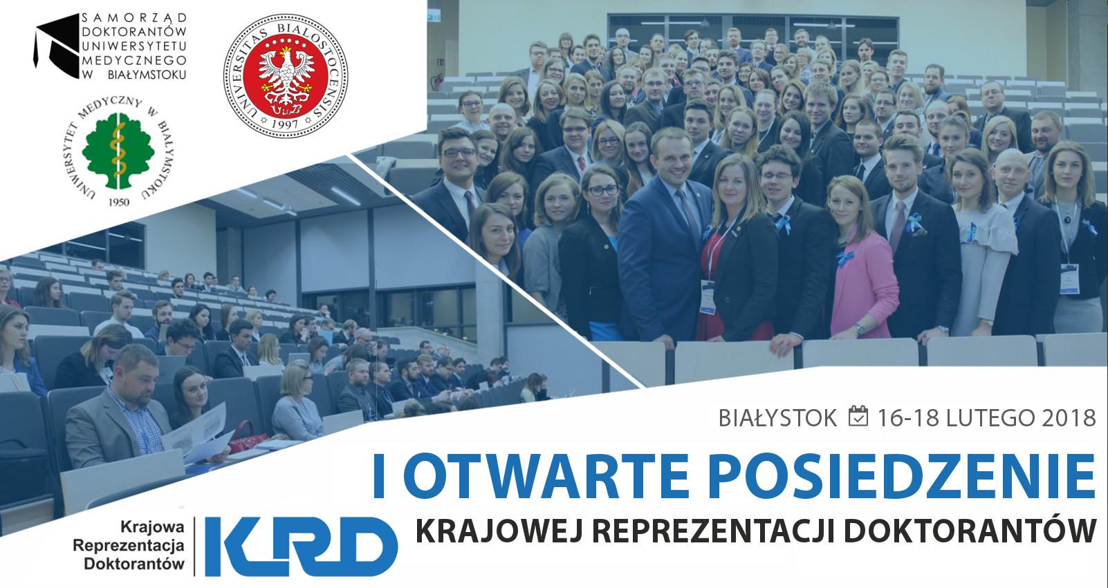 I posiedzenie XIII kadencji Zarządu Krajowej Reprezentacji Doktorantów
