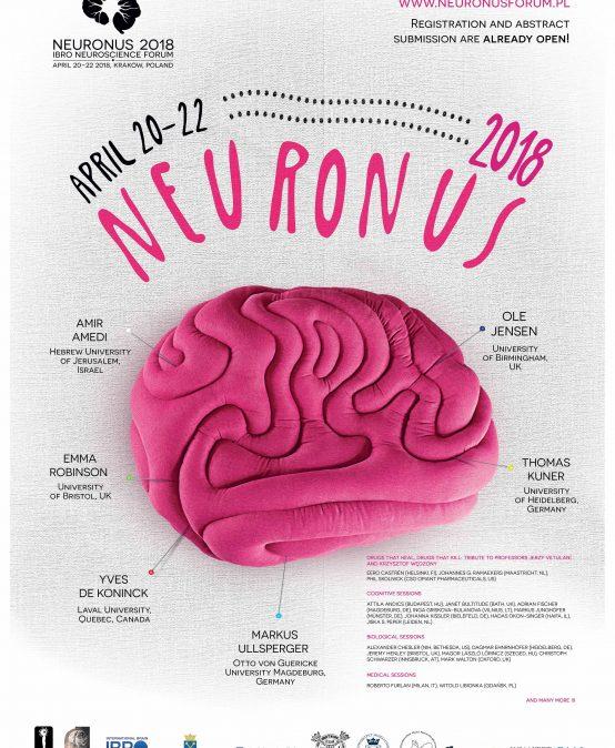 Konferencja Neuronus 2018 Ibro Neuroscience Forum