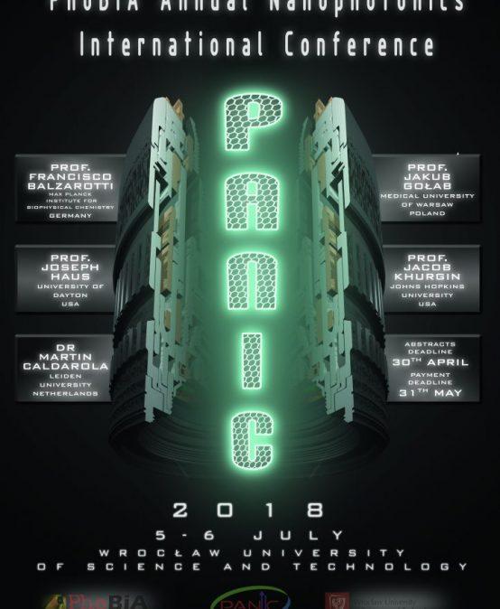 "PhoBiA Annual Nanophotonics International Conference ""PANIC 2018"""