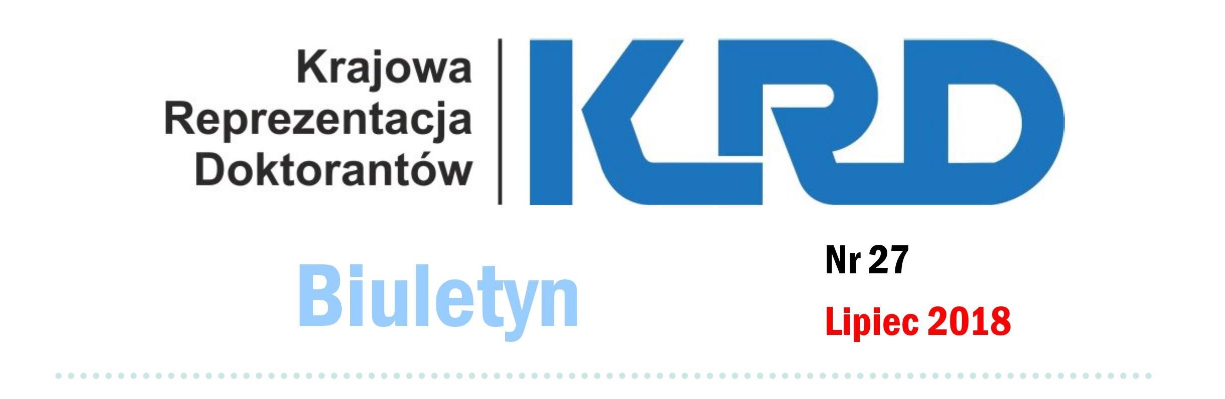 Biuletyn KRD – pierwsze półrocze 2018