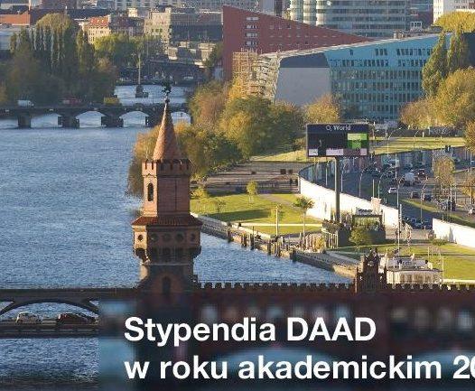 Oferta stypendialna Niemieckiej Centrali Wymiany Akademickiej (DAAD) na rok 2019/2020