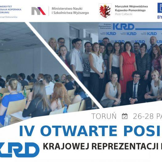 IV Otwarte Posiedzenie Zarządu KRD