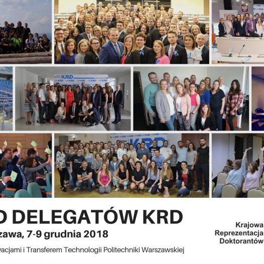 XV Zjazd Delegatów KRD – Rejestracja
