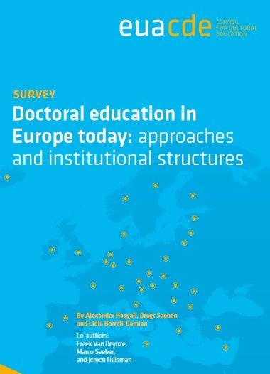 EURODOC informuje o raporcie EUA: Doctoral education in Europe today